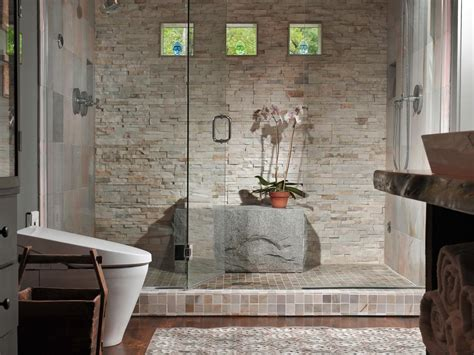luxury bathroom showers luxury bathrooms hgtv