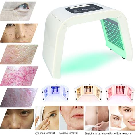 skin care light therapy pdt 4 colors led light photodynamic skin care rejuvenation