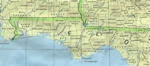 map of texas panhandle cities florida panhandle map