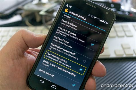 talkback android what is talkback android central