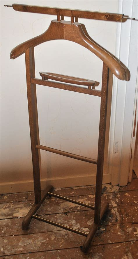 suit rack for bedroom vintage wooden gentleman s suit clothes valet stand rack hanger rail jacket valet
