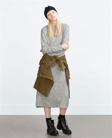 Robe En Pull Zara - comment porter la robe pull avec style les 201 claireuses