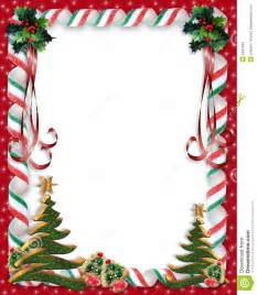 christmas candy and holly border stock images image 6465644