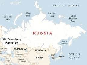 Russia Usa Map by Russia Guide National Geographic