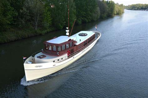 rondspant motorjacht holterman yachts toont zaterdag 21 april hybride rondspant