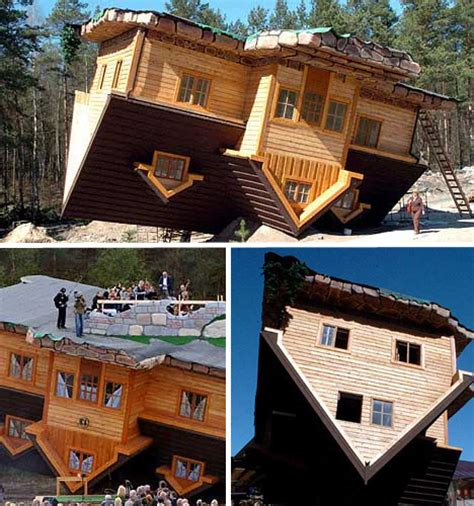 upside down house poland top 15 most amazing exotic houses in the world urbanist