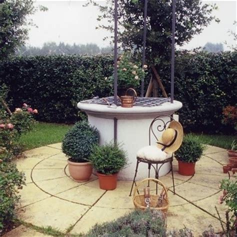 pozzi per giardini pozzi da giardino accessori da esterno pozzi da