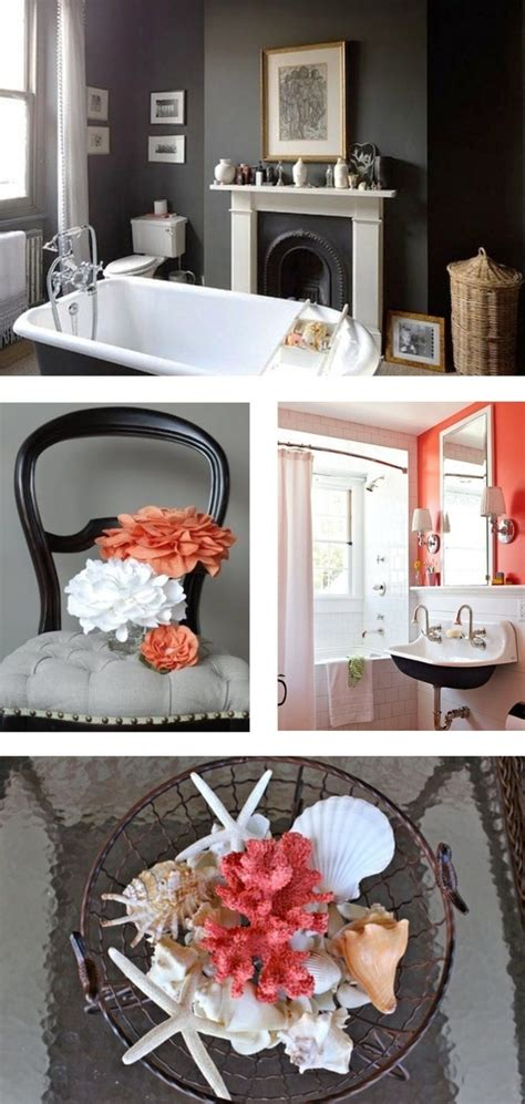 gray and coral bathroom colours for my bathroom sensible vs mental decorator s