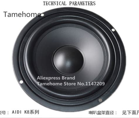 tamehome 1 pcs 8 inch car speaker 8 inch woofer home