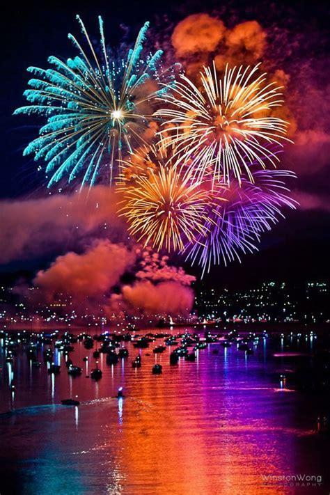new year vancouver fireworks feuerwerk bilder feuerwerk gb pics gbpicsonline