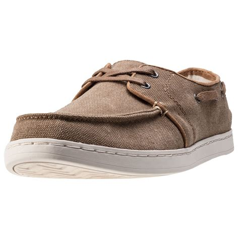 shoes culver evening sandals toms culver mens boat shoes in toffee