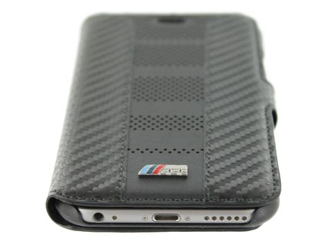 bmw m carbon book iphone 6 6s hoesje