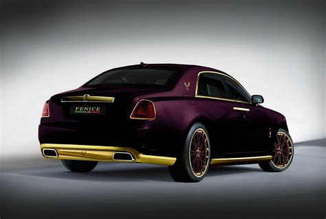 roll royce fenice 2012 rolls royce ghost quot paris purple quot by fenice milano