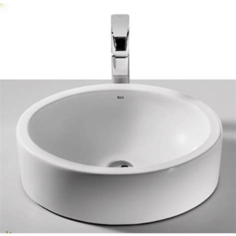 countertop bathroom basins roca fuego over countertop basin uk bathrooms