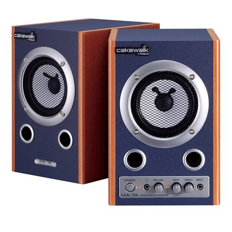 Speaker Monitor cakewalk ma 7a studio monitor speakers monitoring from inta audio uk