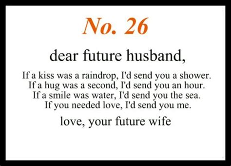dear future husband no 26 dear future husband the man god chose for the hero