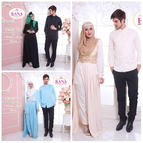Baju Muslim Princess Premium jual pakaian muslimah modern emily set dan adam koko by