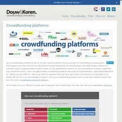 crowdfunding platforms crowdfunding creativity pearltrees