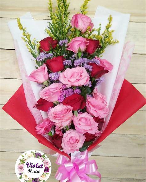Bunga Violces Pink buket bunga mawar merah mawar pink 20 pcs violet