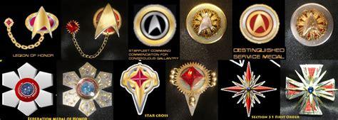 Steampunk Decorations Steam Trek Victorian Star Trek Tng Medals By Arsenal