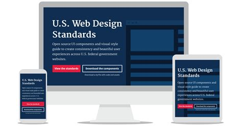 Web Layout Design Standards | 18f digital service delivery how design consistency