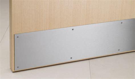 6851 Modric Kick Plate With Torx Screw Fixings Allgood Kick Plates For Interior Doors