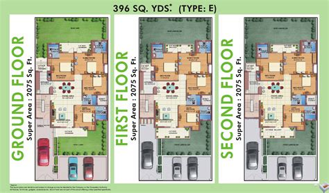 layout white house m2k the white house in sector 57 gurgaon buy sale