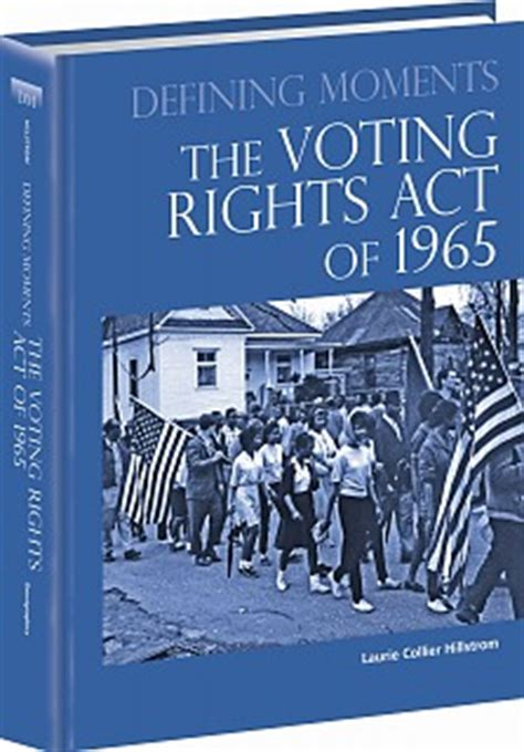 voting rights act of 1965 section 5 omnigraphics the voting rights act of 1965