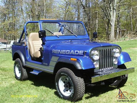 1984 Jeep Cj7 1984 Jeep Cj7 Renegade 91 430 Original Complete