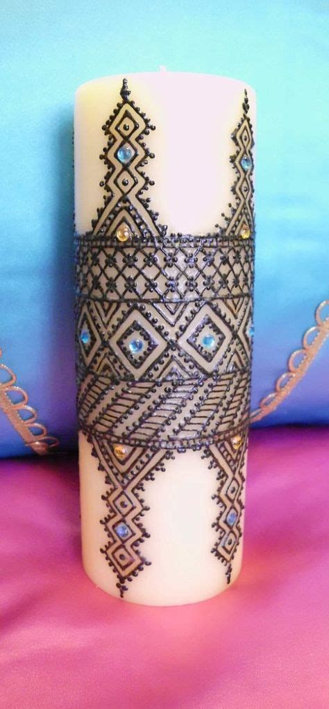 henna design candles 27 best with pain comes strength tattoo images on