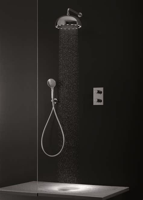cristina doccia soffioni per la doccia essenziali e anche luminosi cose