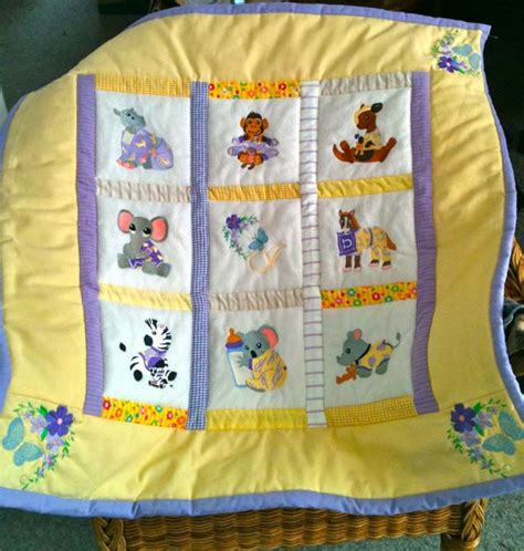 Animal Baby Quilts baby animal quilt by derizann on deviantart