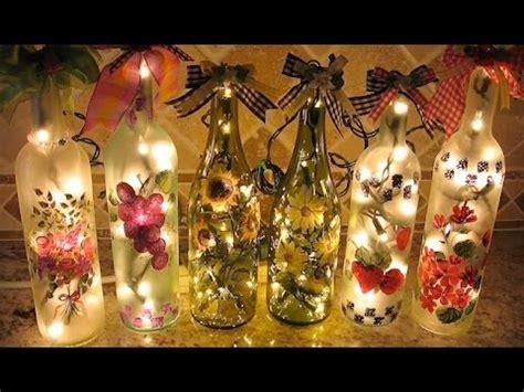 adornos de botella navidad imagenes decoraci 243 n con botellas reciclaje de botellas usadas