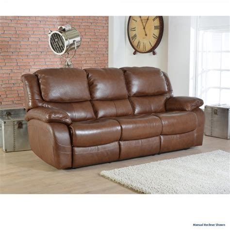 Electric Recliner Sofa Lazboy 3 Seater Electric Recliner Sofa In Leather At The Best Prices