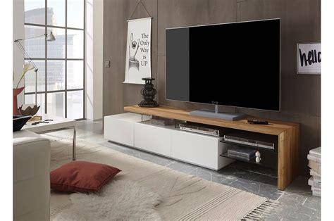 Meuble Tv Design Bois by Meuble Tv Design Bois Et Blanc Novomeuble