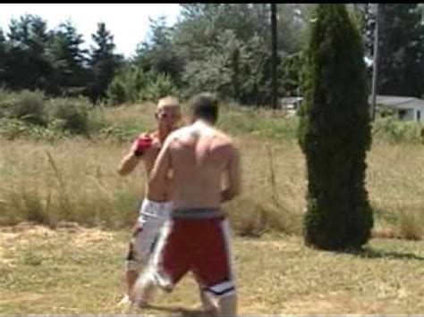 backyard fights jake the savage fights josh the monkey