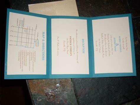 simple diy wedding invitations weddingbee photo gallery