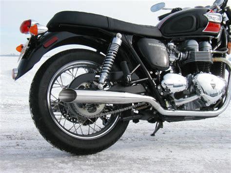 best exhaust for triumph bonneville sceptre exhaust for the new triumph bonneville