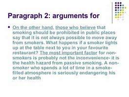 argumentative essay about smoking should be banned in public places