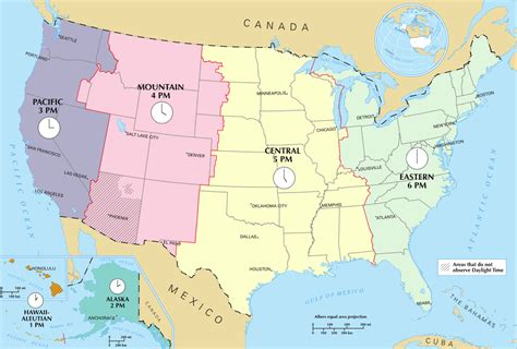 what us scow time in the united states wikipedia