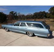 1965 Pontiac Catalina Wagon Bagged  Long Roof Wagons