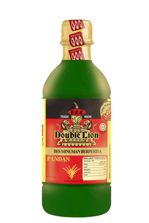 flavoured concentrate pandan 495ml khh