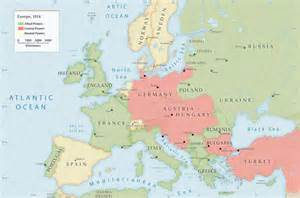 Europe In 1914 Map by Gallery For Gt Map Of Europe Before Ww1 1914