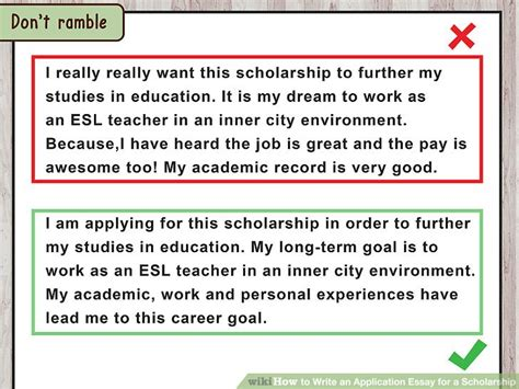 Education Starts At Home Essay by 4 Ways To Write An Application Essay For A Scholarship Wikihow