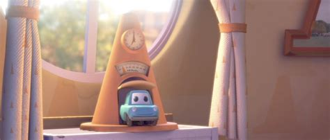 Alarm Pison dan the pixar fan cars cozy cone alarm clock d23 expo