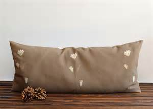 Large Pillows Large Bolster Pillow Cover Embroidered Pillow Cover 16x35