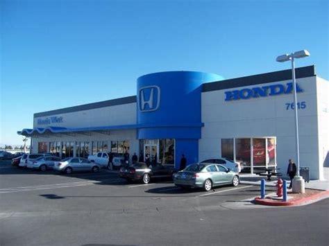 honda west car dealership in las vegas nv 89117 kelley