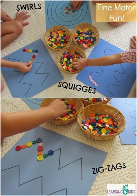 pattern games for infants fine motor work station or centre activity motor