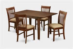 Small 4 Chair Dining Set 5 Pc Dinette Set For Small Spaces Small Table With 4 Dining Table Chairs Ebay