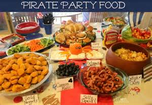Party Food by Jake And The Never Land Pirates Birthday Party Food